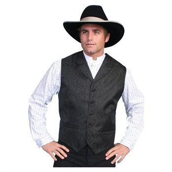 Scully Black Vest #RW093