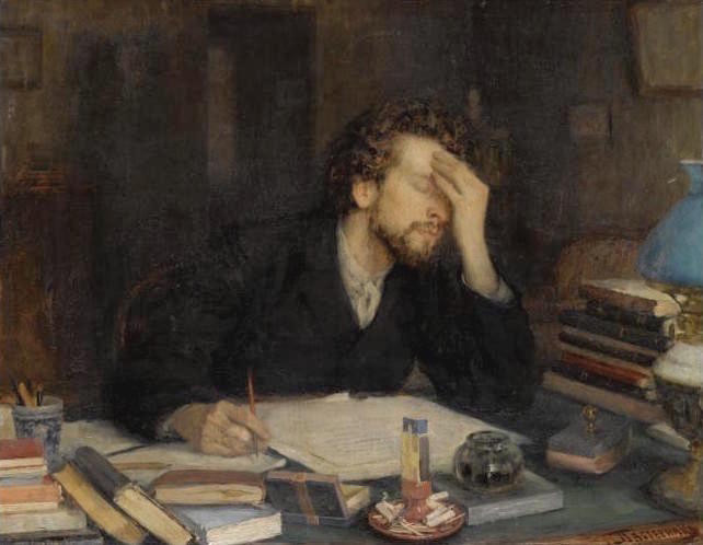 The Passion of Creation by Leonid Pasternak
