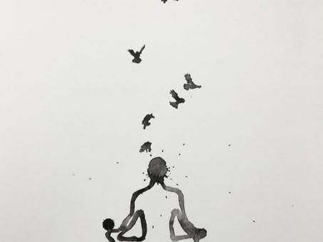 【冥想與思緒:後退一步,讓心智放鬆,才能做到淨空心的境界】