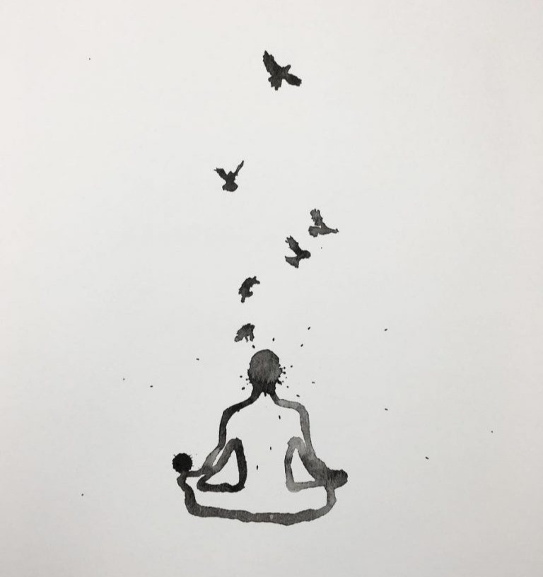 """Meditate Levitate"" by James Zucco"