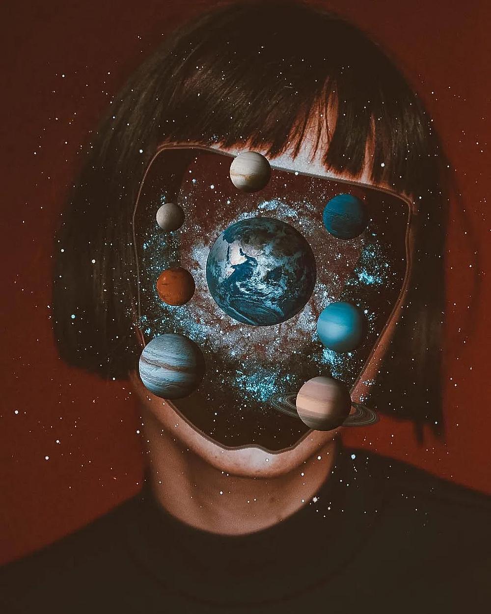 Psychedelic Surrealism by Denis Sheckler