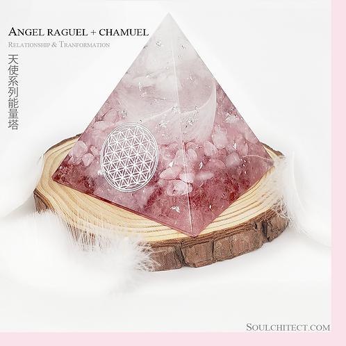 天使系列能量塔 RAGUEL X CHAMUEL