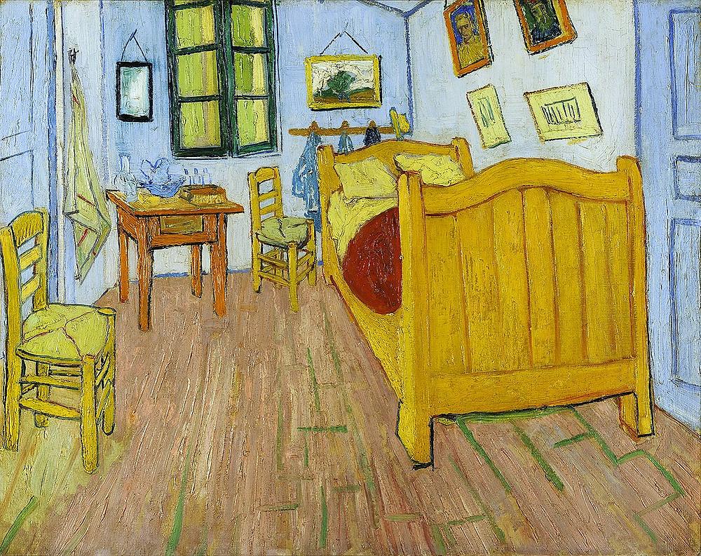 """""""Bedroom in Arle"""" by Van Gogh"""