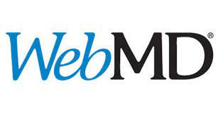 Logo for WebMD,  a website that provides a powerful free pill identifier search tool to find the name of your pills.