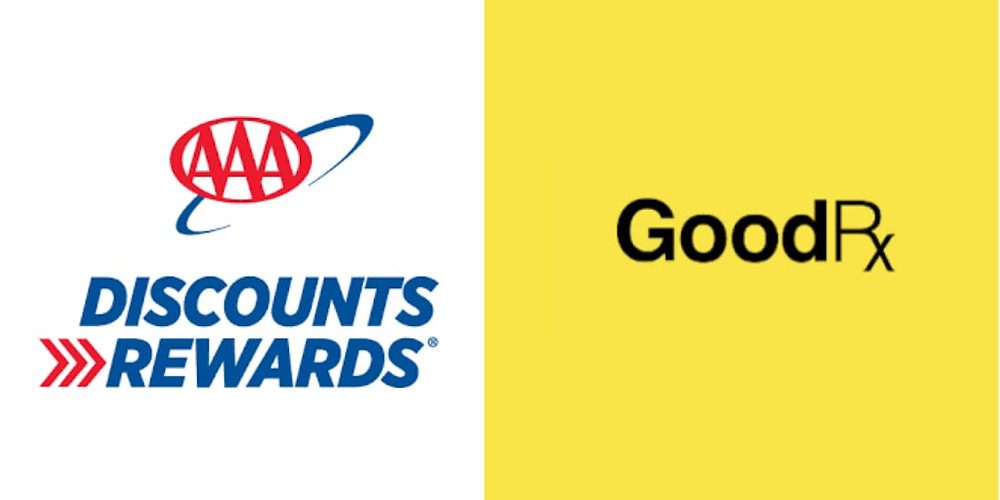 A Review of the AAA GoodRx exclusive prescription savings that helps members save up to 85%,  aaa prescription savings review, #health #medication #goodrx #aaa #savings #discounts
