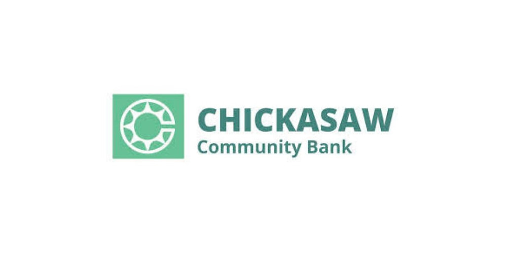 Chickasaw community bank,  native american bank providing financial services such as car loans, credit cards and personal loans to native americans.
