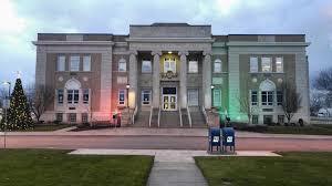 Cheektowaga Town Hall in the evening