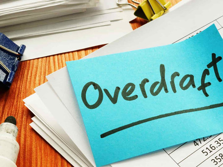 Overdraft: What happens when you spend more money than what you have in your bank account?