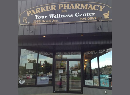 A review of Parker Pharmacy, A local Independent pharmacy.