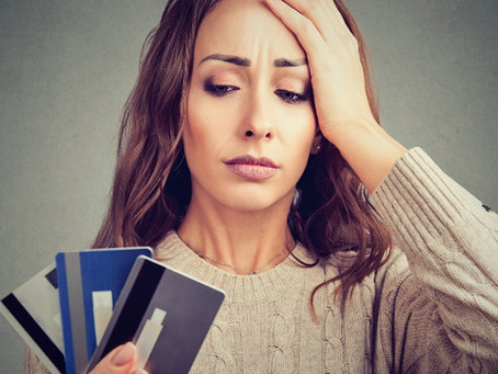 Frugal Living: Consolidate your high interest debts and become frugal.