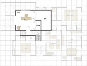 中2階 間取図