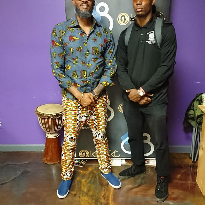 Kymone & Kwame