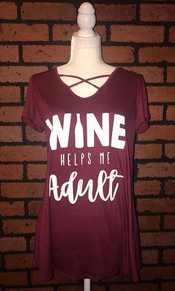 Wine helps