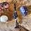 Thumbnail: Snowflake obsidian keychain
