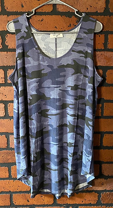 Camo tank extended Sizing