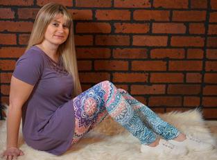 Digital Print Leggings