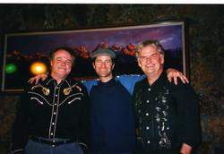 Mike Dowling, Pat Donahue, and Justin