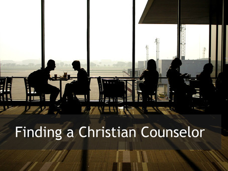 finding a Christian counselor