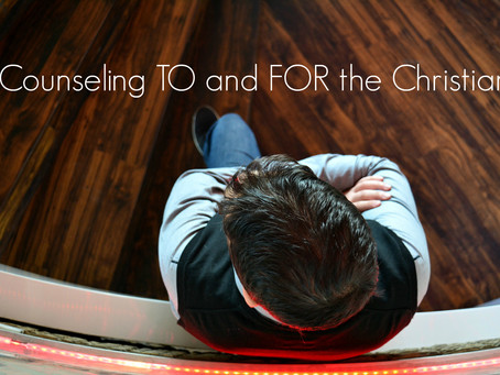 counseling TO and FOR the Christian