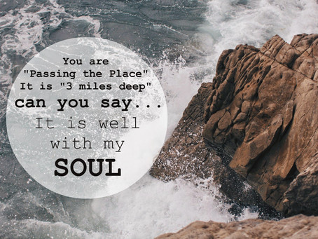 can you say it is well with my soul?