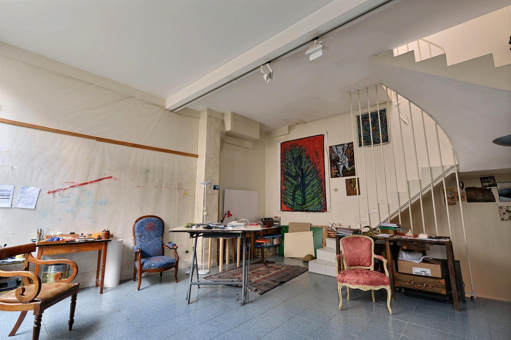 Atelier d'artiste, Mouzaïa Paris