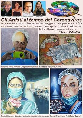 Gli artisti al tempo del coronavirrus.jp