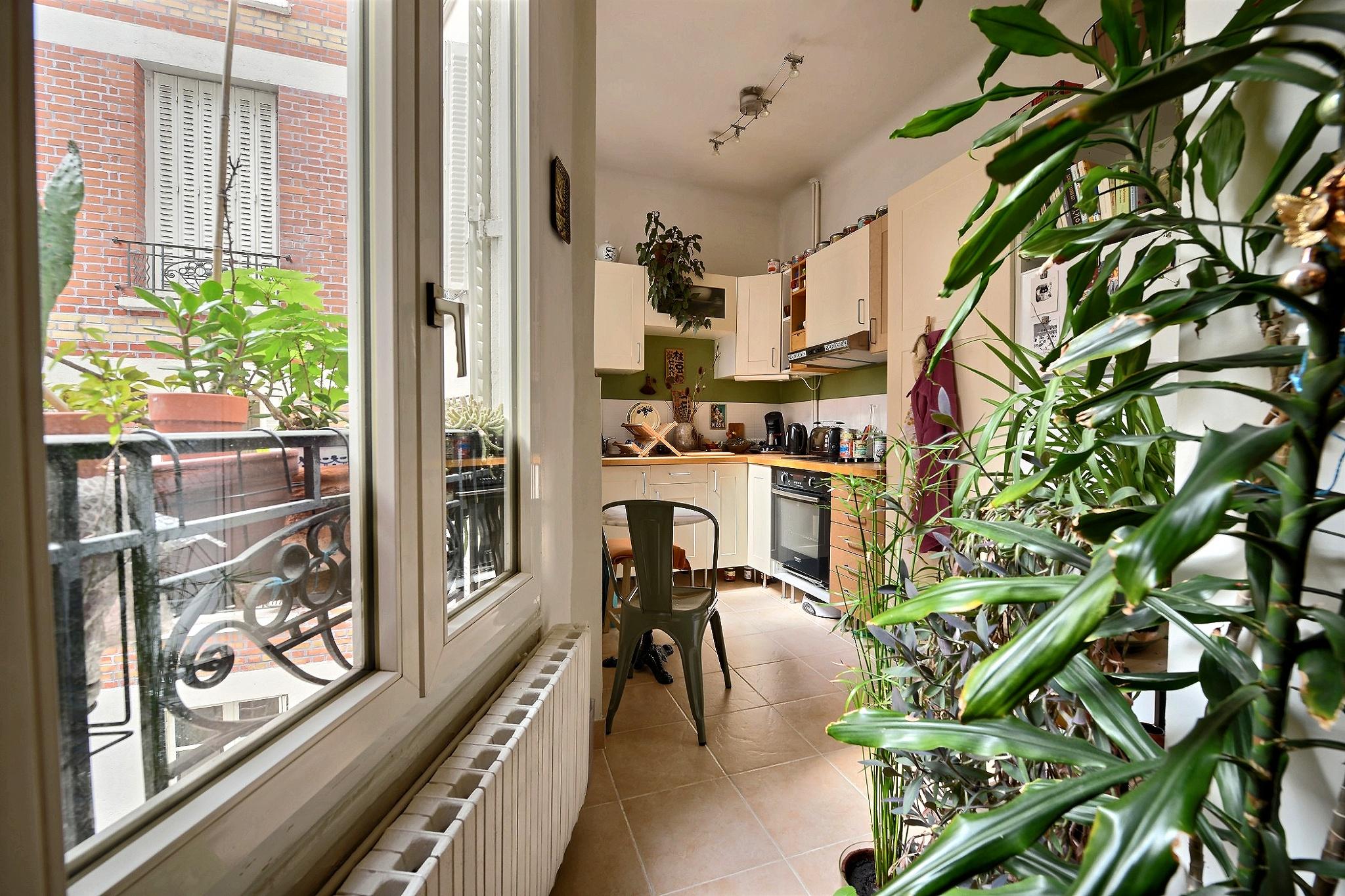 3 Pièces Paris 20, Photo immobilière