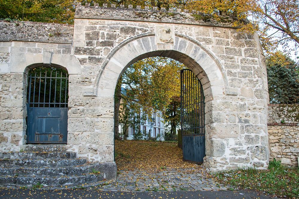 Photo immobilière. Château dans l'Oise