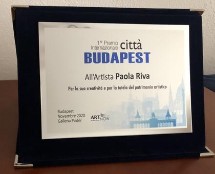 Targa di Riconoscimento - Premio Internazionale Città Budapest