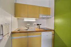 Studio loué en Airbnb à Mulhouse