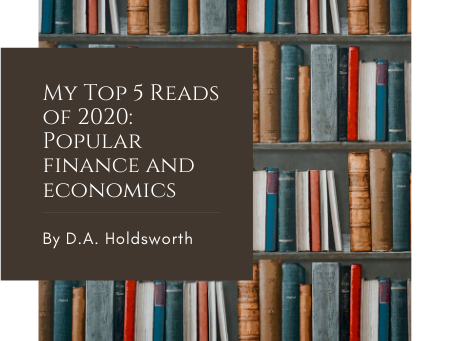 My Top 5 Reads of 2020: Popular finance and economics