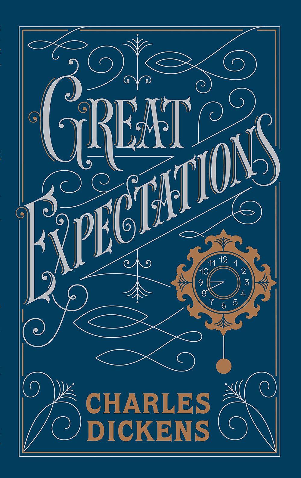 Great Expectations - Charles Dickens Book Cover