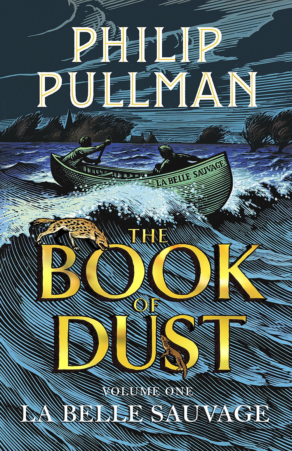 La Belle Sauvage - Philip Pullman Book Cover