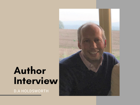 Author Interview - D.A. Holdsworth