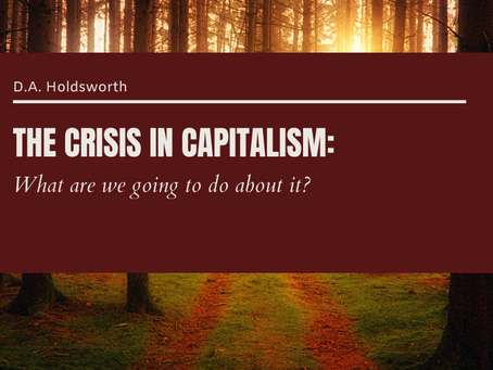 The Crisis in Capitalism: What are we going to do about it?