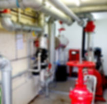 Install sprinkler and alarm systems