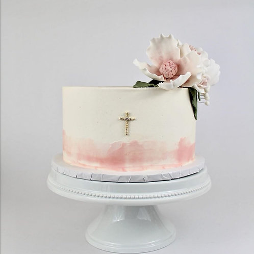 Elegant Communion Cake