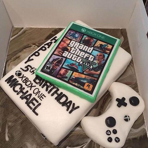 Xbox GTA5 Birthday Cake