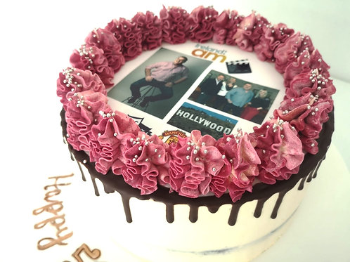 Birthday Cakes with a Picture On It
