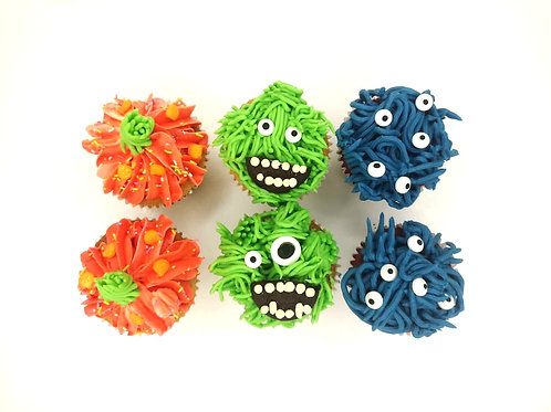 halloween monster cupcakes dublin