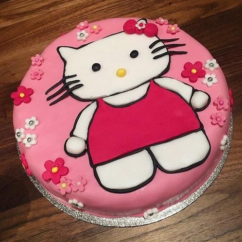 "Hello Kitty Cake, 8"""