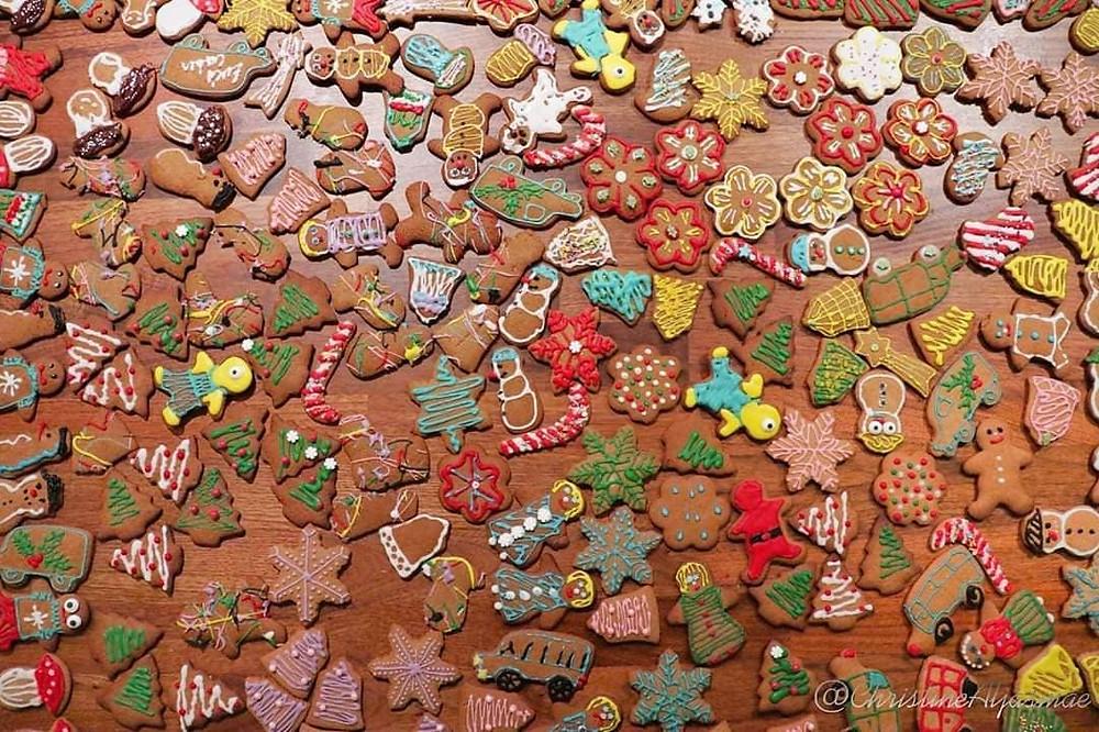 Handmade Gingerbread Cookies by Eves Cakes Dublin