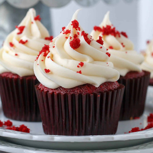 Red Velvet Cupcakes, box of 6