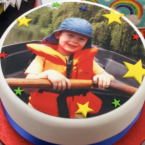 Edible Photo on Cake by Eves Cakes Dublin