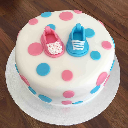 """Baby Shower Cake 10"""""""