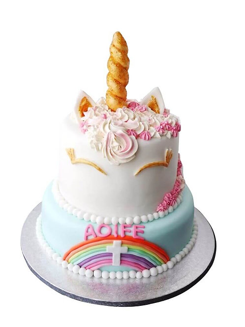 Unicorn Communion Cake
