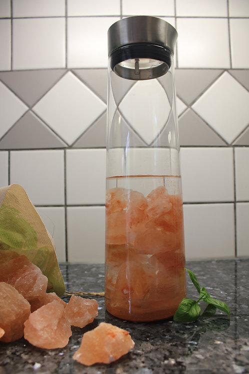 Carafe Blomus avec 1 Kg de sel de Himalaya