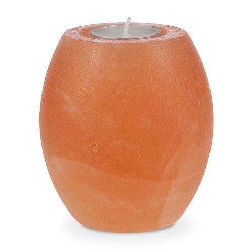 Photophore sphère polie, sel de l'Himalaye