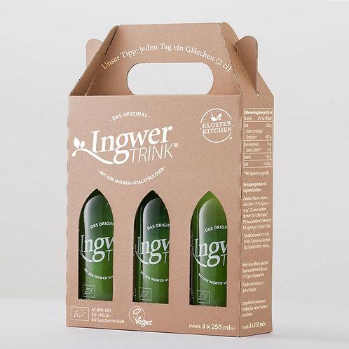 Ingwer TRINK pack de 3 bouteilles
