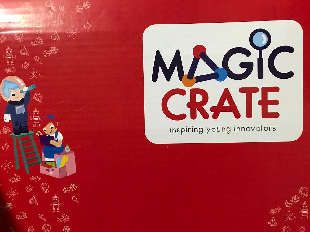 Magic crate box